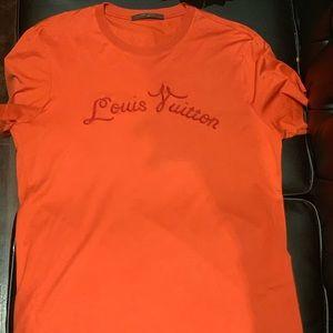 Men's red Louis Vuitton Shirt